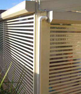 Home Security Shutter - Mini-View Roller Shutters